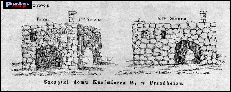 Ogl膮dasz obraz z artyku艂u: Przedb贸rz na dawnych rycinach i poczt贸wkach