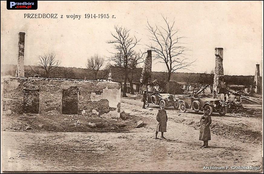 Oglądasz obraz z artykułu: Przedbórz na dawnych rycinach i pocztówkach
