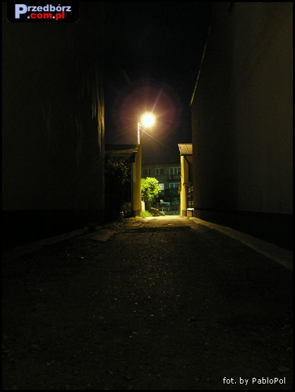 Oglądasz obraz z artykułu: Przedbórz Nocą