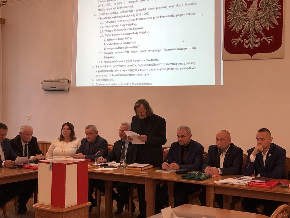 Oglądasz obraz z artykułu: Nowa Rada Miejska rozpoczęła swoją działalność