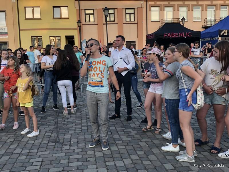 Oglądasz obraz z artykułu: Mieszkańcy Przedborza bawili się na swięcie miasta